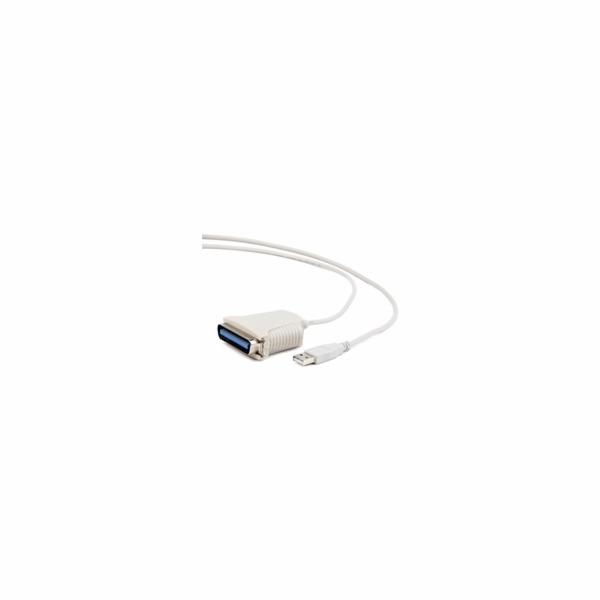 Adaptér USB-paralelní port 1,8m Gembird