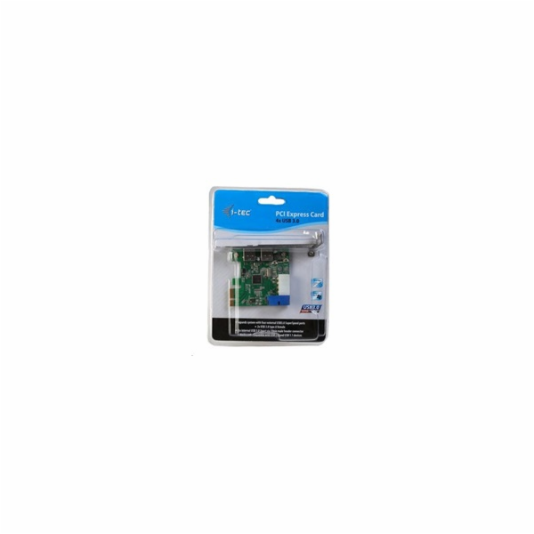 iTec PCIe Card USB 3.0 SuperSpeed 2x External+ 1x Internal 20pin