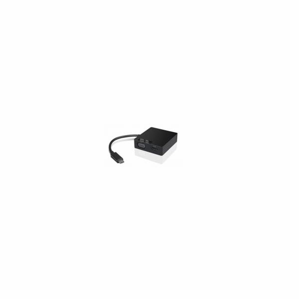 Lenovo USB-C Travel Hub 4X90M60789 TP rozšiřující adapter (VGA, RJ45, napájení)