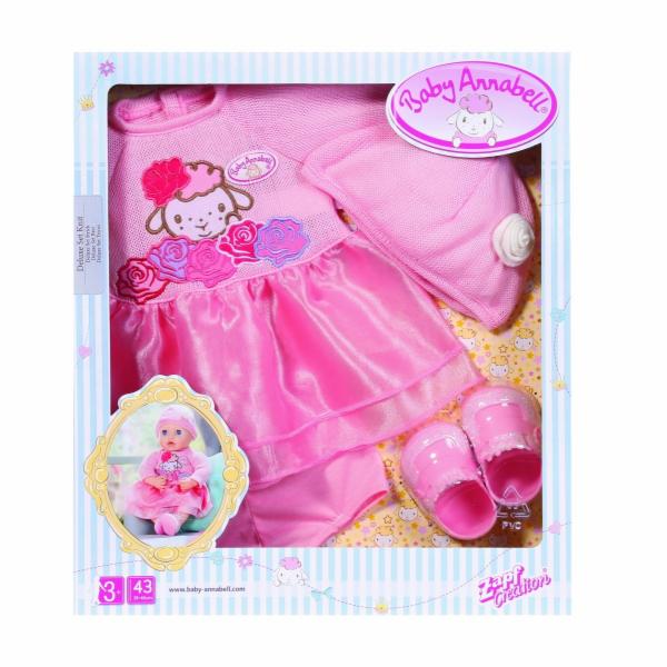 Sada oblečení Deluxe Baby Annabell