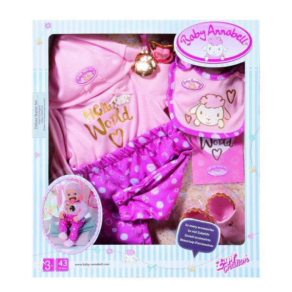 Set oblečení Deluxe Starter set Baby Annabell