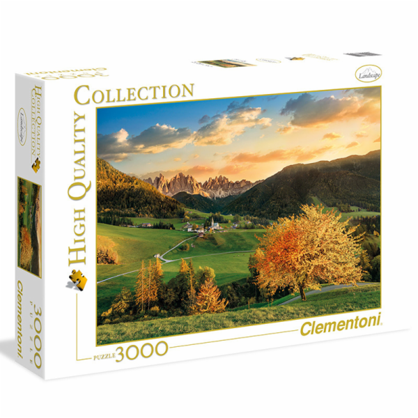 Puzzle 3000 dílků Alpy