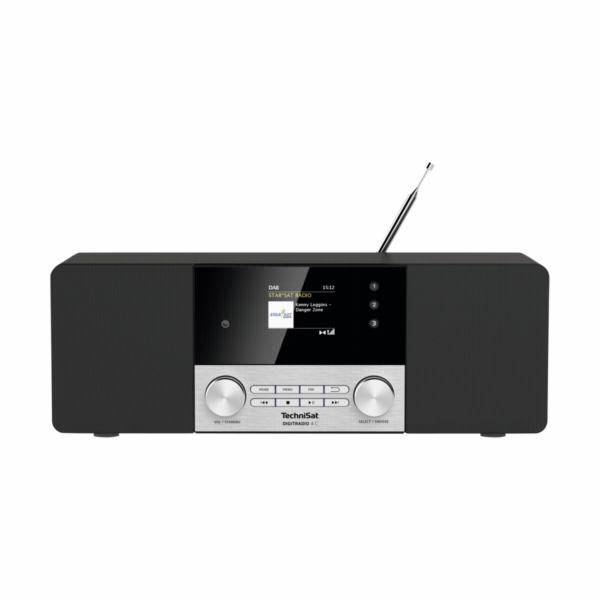 Technisat DigitRadio 4 C cerna/ stribrna