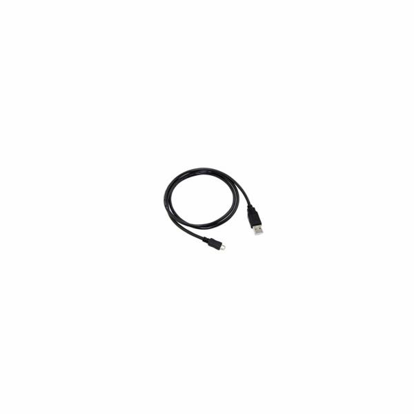 C-Tech CB-USB2M-20B USB 2.0 AM/Micro, 2m, černý kabel