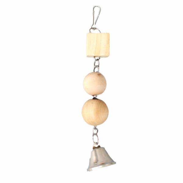 Karlie Velká dřevěná hračka pro ptáky