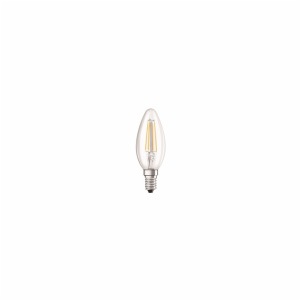 OSRAM LED STAR CL B Filament 4W 827 E14 470lm 2700K (CRI 80) 15000h A++ (Blistr 2ks)