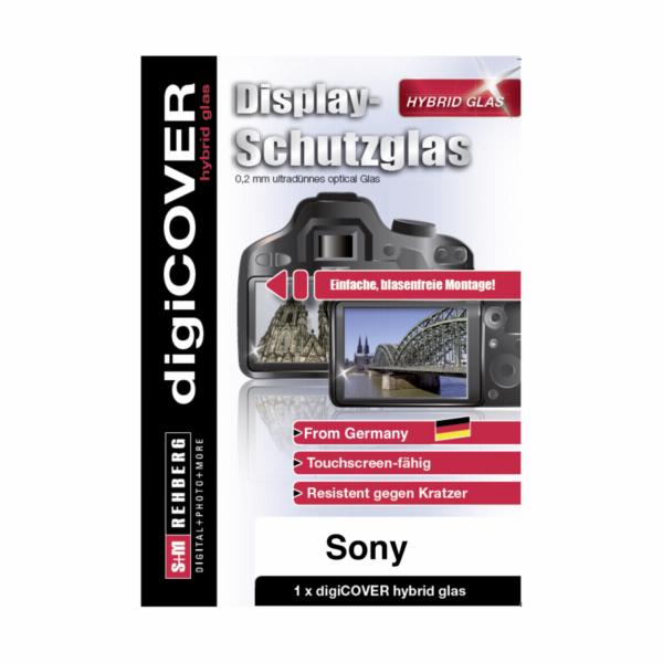 digiCOVER ochr.hybridni sklo na displ. Sony Alpha 6000 6300 6500