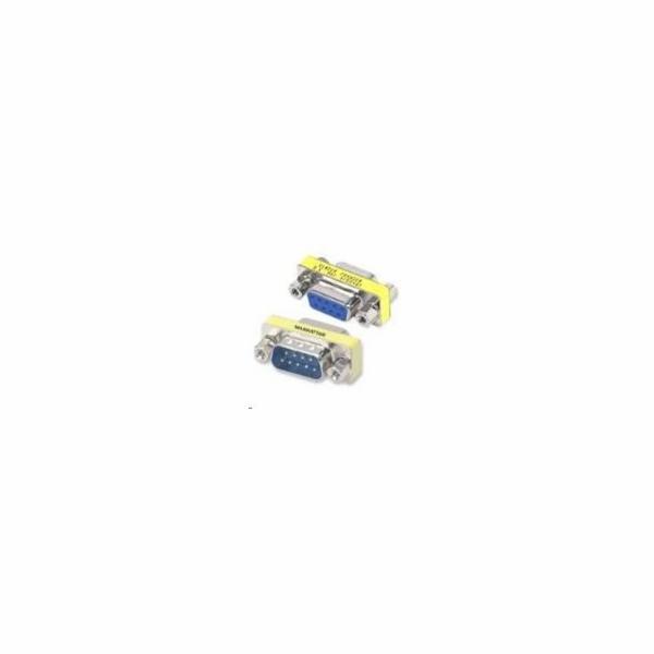 PREMIUMCORD Redukce sériový port 9M / 9F, krátká (Canon 9 pin)