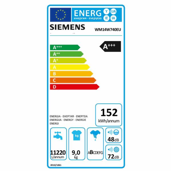 Siemens WM14W740