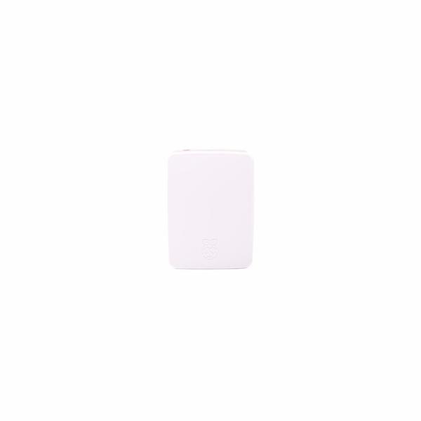 Kryt Raspberry case Original bílá/růžová pro Raspberry Pi 4 B