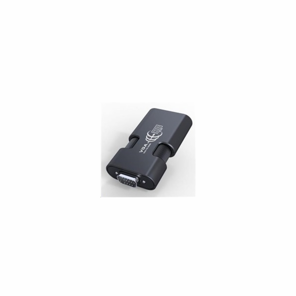 PREMIUMCORD Převodník - VGA+audio elektronický konvertor na rozhraní HDMI