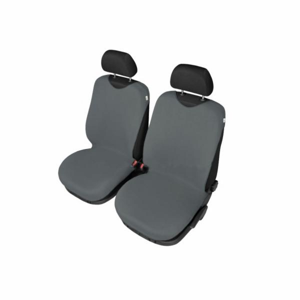 Autopotahy Tričko BAVLA na přední sedadla - tmavěšedé SIXTOL