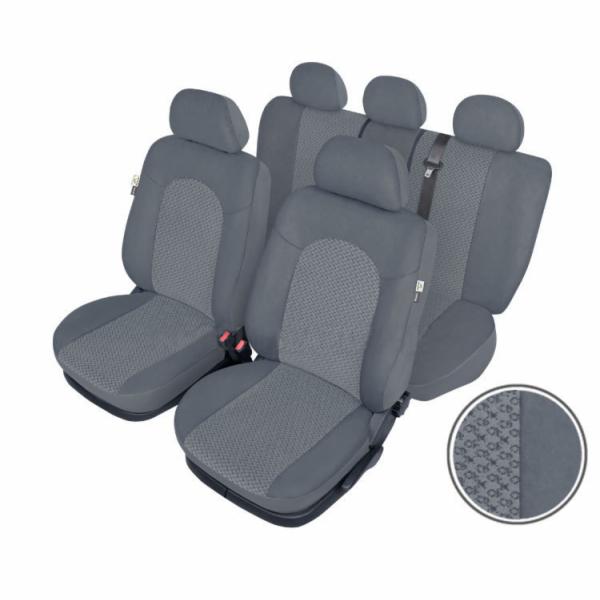 Autopotahy ATLANTIC Standard, šedé SIXTOL