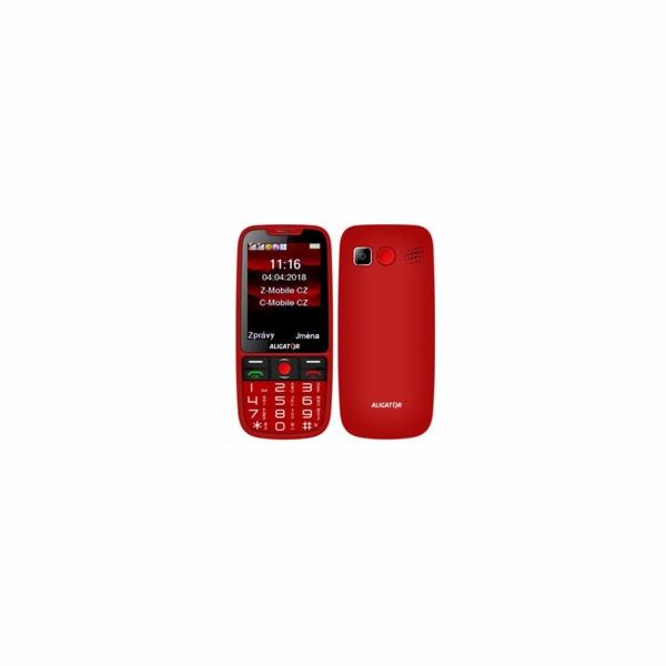 ALIGATOR A890 Senior červený