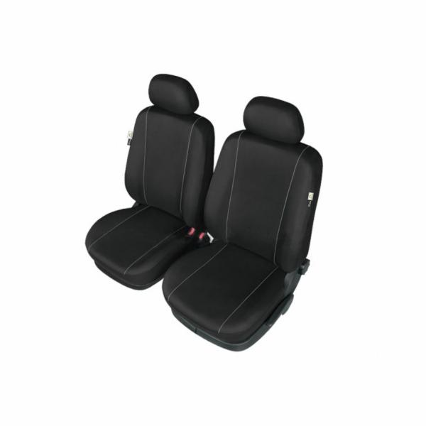 Autopotahy HERMAN na přední sedadla, černé SIXTOL