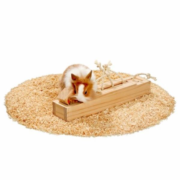 Karlie interaktivní dřevěná hračka pro hlodavce, 6 kostek, 37,5x8,5x6,5cm