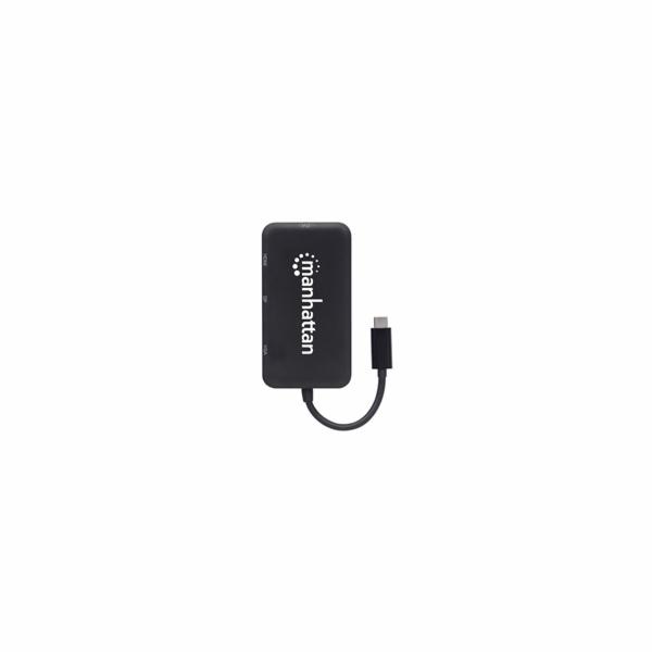 MANHATTAN Dokovací stanice USB-C na HDMI/DP/VGA/DVI