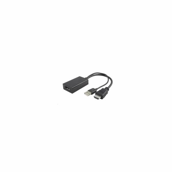 PremiumCord adaptér HDMI to DisplayPort Male/Female s napájením z USB