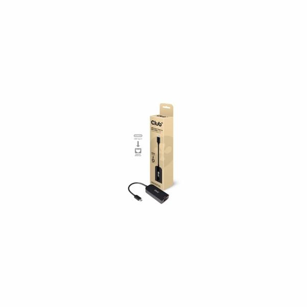 Club3D Adaptér USB 3.2 Gen 1 Typ C na RJ45 2.5Gbps, 24cm