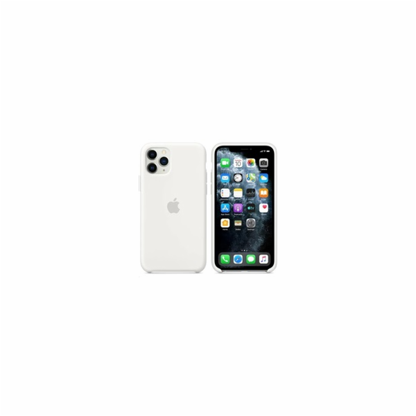 Apple iPhone 11 Pro Silicone Case - White