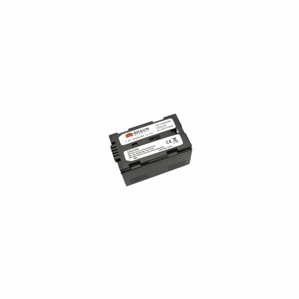 Braun akumulátor PANASONIC D220, D14, D16, 2200mAh - rozbaleno