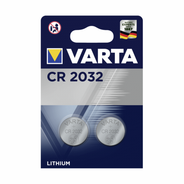 10x2 Varta electronic CR 2032