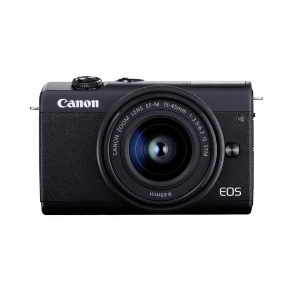 Canon EOS M200 Kit cerna + EF-M 15-45 + 55-200 IS STM