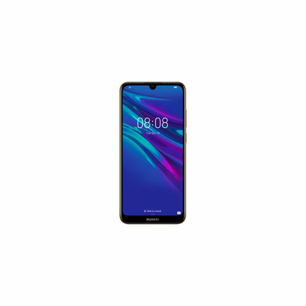 Huawei Y6 2019 Dual SIM, jantarově hnědý