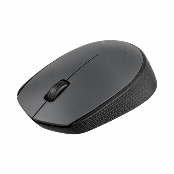 Logitech myš Wireless Mouse M170, bezdrátová, optická, černá-šedá, 1000dpi