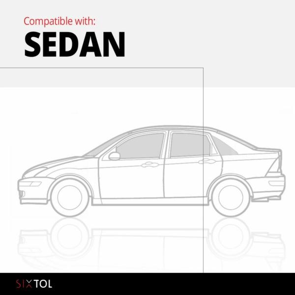 Vana do kufru gumová VOLVO S40 Sedan 2007-> SIXTOL