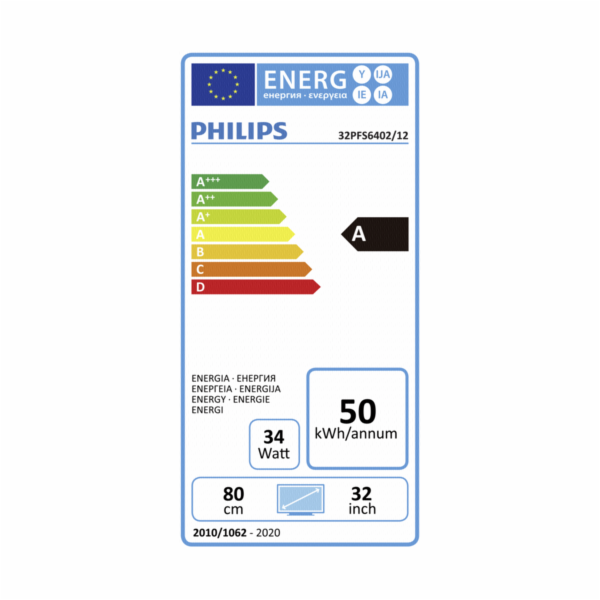 Philips 32PFS6402/12 LED-TV FHD DVB-T2HD/C/S2 Ambilight Android