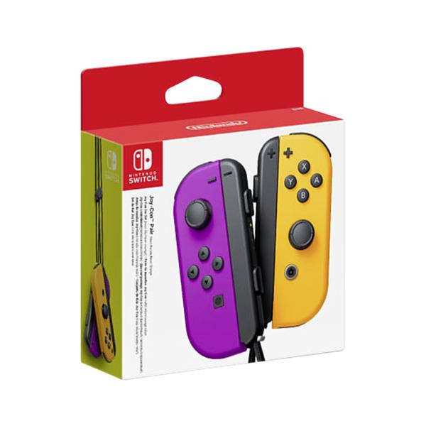 Nintendo Joy-Con Pair Neon Purple/Orange