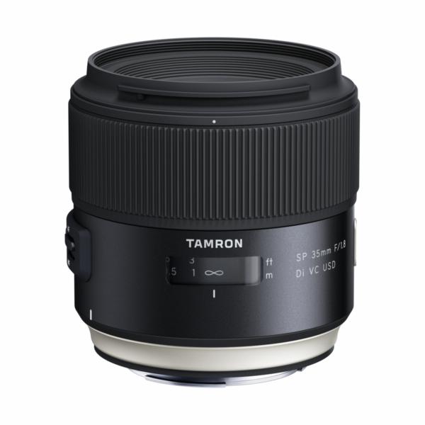Objektiv Tamron SP 35mm F/1.8 Di VC USD pro Canon, rozbaleno