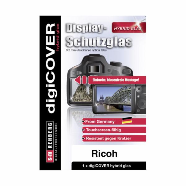 digiCOVER ochranne hybridni sklo na displej Ricoh WG-6