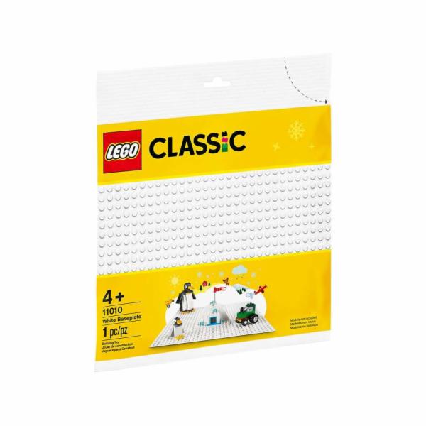 LEGO Weiße Bauplatte