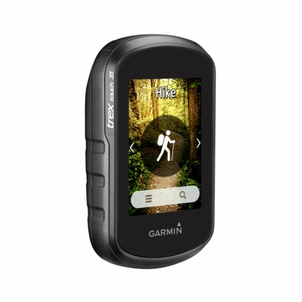 Garmin eTrex Touch 35 vc. TopoActive zap. Evropa