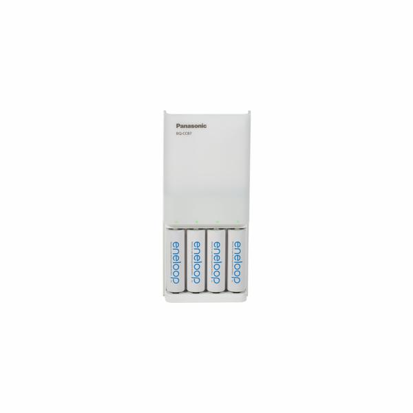 Panasonic Eneloop USB-fastcharge device incl 1x4 AA 1900mAh batt.