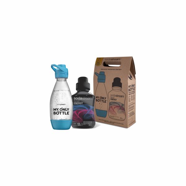 Sportovní set lahev 0,6 l + Energy SODA