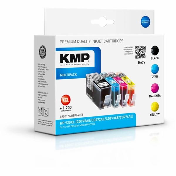KMP H67V Multipack BK/C/M/Y kompatibilni s HP c. 920 XL