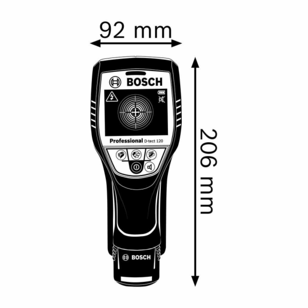 Bosch Wallscanner D-tect 120 0.601.081.300