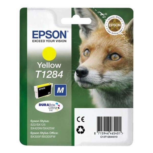 Epson cartridge zluta DURABrite T 128 T 1284