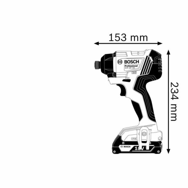 Bosch GDR 18V-160 Professional aku razovy utahovak