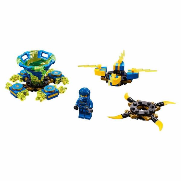 70660 Ninjago Spinjitzu Jay, Konstruktionsspielzeug