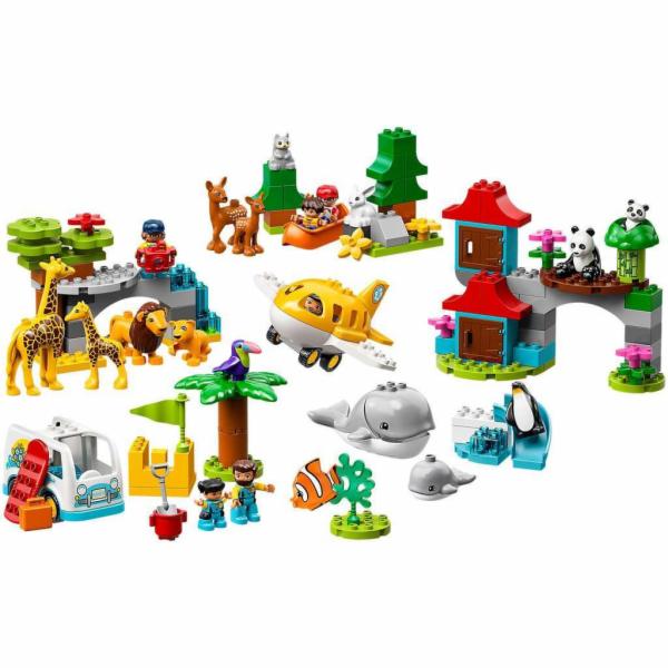 10907 DUPLO Tiere der Welt, Konstruktionsspielzeug
