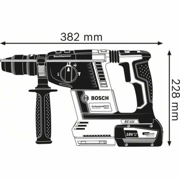 Bosch GBH 18V-26 F aku vrtacka s priklepem