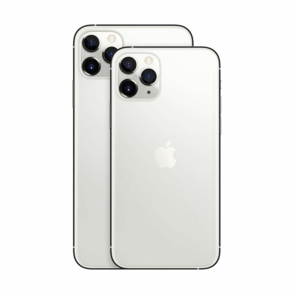 Apple iPhone 11 Pro Max 256GB, stříbrná