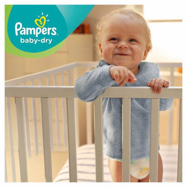 Pampers Baby-Dry S4 8-14 kg 174 ks