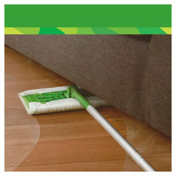 Swiffer (1 podlahový mop + 8 suchých podlahových utěrek)