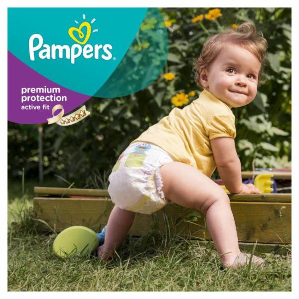 Pampers Baby-Dry S3 5-9 kg 198 ks