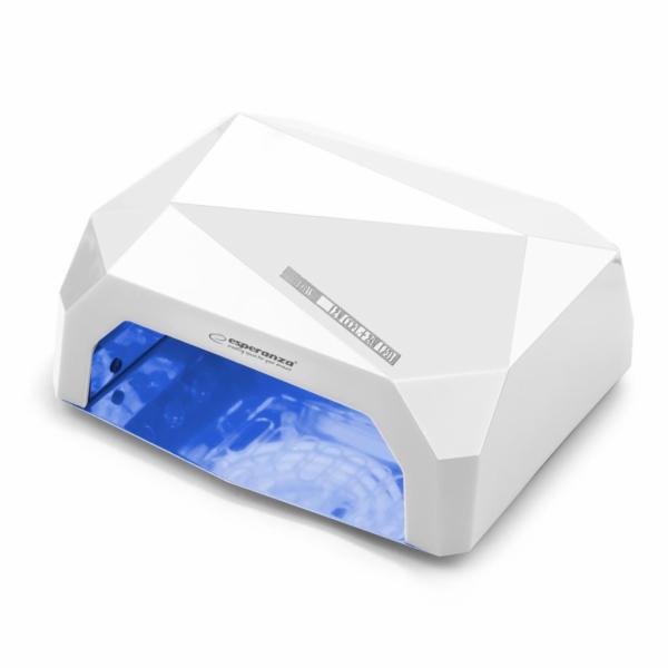 Esperanza EBN002W ONYX UV LED lampa na gelové nehty a laky 36W EBN002W
